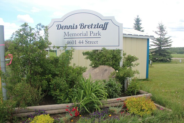 Memorial Park for Dennis Bretzlaff
